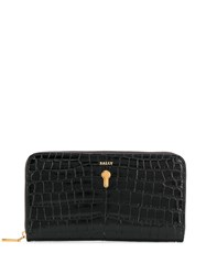 Bally Crocodile Effect Wallet 60