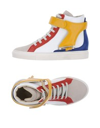 D S De Footwear High Tops And Sneakers White