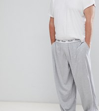 French Connection Plus Cotton Lounge Pants Grey Mel