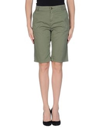 Twin Set Jeans Bermudas Military Green