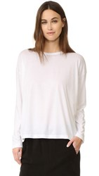 Vince Relaxed Crew Tee White