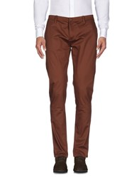 Hosio Casual Pants Cocoa