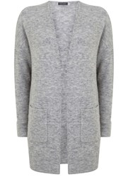 Mint Velvet Grey Marl Cocoon Cardigan Grey