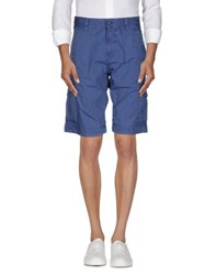 Napapijri Trousers Bermuda Shorts Men Slate Blue