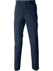 Burberry Brit Classic Chino Trousers Blue