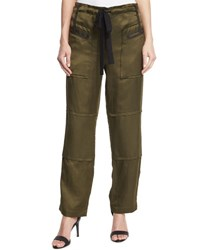 Elizabeth And James Bode Drawstring Cargo Pants Military