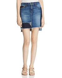 Joe's Jeans High Low Denim Pencil Skirt In Kars