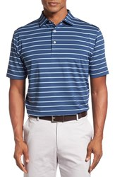 Peter Millar Men's Tradeshow Stripe Polo