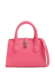 Vivienne Westwood Sofia Small Saffiano Top Handle Bag Pink