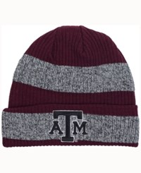 Adidas Texas A And M Aggies Player Watch Knit Hat Maroon Heather Gray