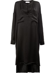 Faith Connexion Chest Pocket Dress Black