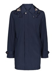 Aquascutum London Men's Clifton Coat Navy