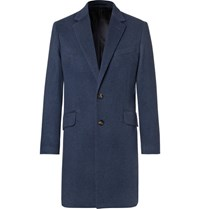 Hardy Amies Cashmere Coat Navy