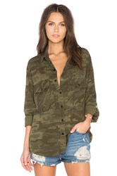 Sanctuary Boyfriend Shirt Olive