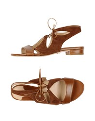 Chelsea Paris Sandals Brown