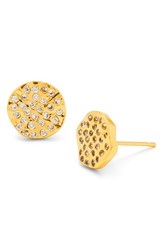 Gorjana Women's 'Aurora' Pave Stud Earrings Gold