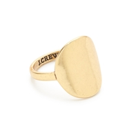 J.Crew Curved Oval Ring