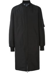 Marcelo Burlon County Of Milan 'Rahue' Reversible Coat Black