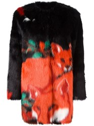Marco De Vincenzo 'Ecologica' Coat Multicolour
