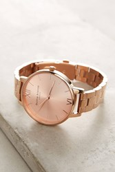Anthropologie Reign Rose Gold Watch Copper