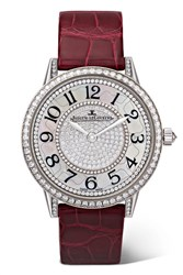 Jaeger Lecoultre Rendez Vous Night And Day Ivy 34Mm 18 Karat White Gold Usd