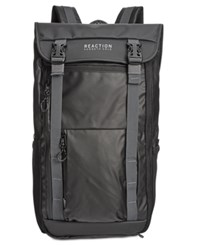 Kenneth Cole Reaction Men's Surge Hype Flap Computer Backpack Black