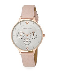 Adrienne Vittadini Sport Sports Chronograph Watch Rose Gold