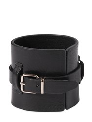 Dsquared 80Mm Buckle Leather Bracelet