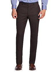 Jack Victor Collection Wool Trousers Brown