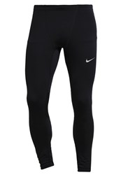 Nike Performance Power Flash Tights Black Reflective Silver