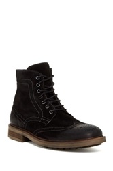Rogue William Wingtip Boot Black
