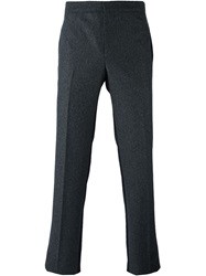 Givenchy Slim Tweed Trousers Grey