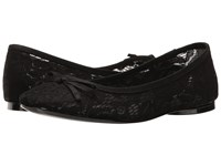 Adrianna Papell Sage Black Sophie Lace Women's Flat Shoes
