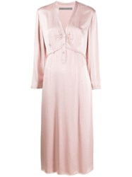 Raquel Allegra Camille Dress Pink