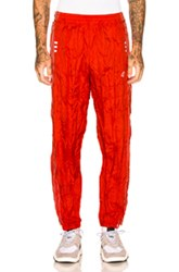 Adidas By Alexander Wang Adibreak Pant In Red