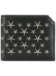 Jimmy Choo Albany Billfold Wallet Black