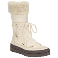 Alice By Temperley Somerset By Alice Temperley Rimpton Leather Snow Boots White