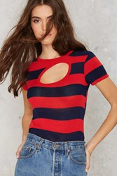 Nasty Gal After Party Vintage Breathless Cutout Tee