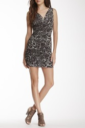 Sweet Pea Side Ruched Dress Gray