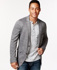 American Rag Samuels Two Button Blazer Only At Macy's Window Pane