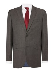 Simon Carter Birdseye Jacket Grey