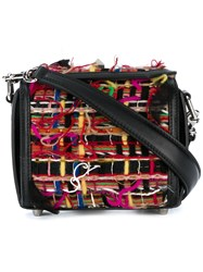 Alexander Mcqueen Box Bag 16 Cotton Leather Multicolour