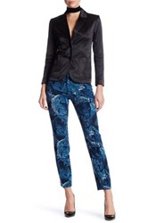 Marc By Marc Jacobs Super Skinny Printed Pant Blue
