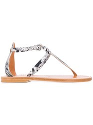 K. Jacques Buffon Sandals Grey