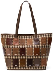 Carmina Campus Lifejacketmini Tartan Var3 Ass Brown