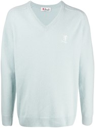 Pringle Of Scotland Long Sleeve V Neck Jumper 60