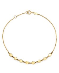 Moon And Meadow Disc Chain Bracelet In 14K Yellow Gold 100 Exclusive