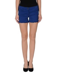 Axara Paris Denim Shorts Azure