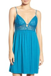 Josie 'Lily' Jersey Chemise Blue