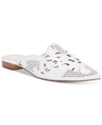 Vince Camuto Meekel Mules White